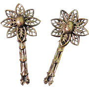 SALE Antique Pair Edwardian Brooches