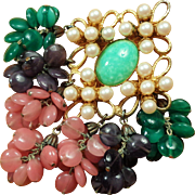 SOLD Incredible and Huge de Lillo Brooch or Pendant