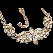 SALE Coro With Pegasus Rhinestone Necklace
