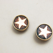 SALE Gold Filled Star Cuff Links