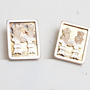 SALE Beautiful Old Gold Filled Cuff Links - Wonderful Condition