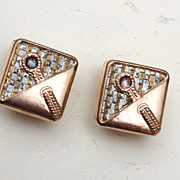 SALE 1881 Gold Filled Cufflinks