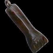 SALE Jade Figa Charm or Pendant