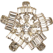 SALE Brilliant Kramer Rhinestone Brooch