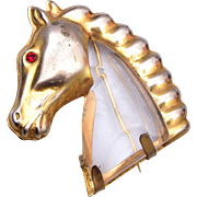 SALE Jelly Belly Horse Brooch