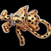 SALE Jomaz Baby Leopard Brooch