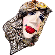 Painted Lady Ltd. Brooch