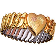 SALE Hall of Providence Gold Filled Expansion Bracelet