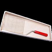 SALE 1932 Bakelite Schneider Cake Cutter in Original Box