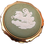Stratton Wedgwood Cameo Compact