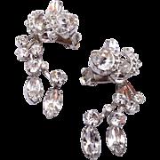 Eisenberg Drippy Rhinestone Earrings
