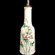 Vintage Witch Hazel Glass Barber's Bottle