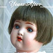 SOLD HEUBACH KOPPELSDORF German Bisque Art Deco Doll Original Wig, Open Mouth, Teeth, Sleep Ey