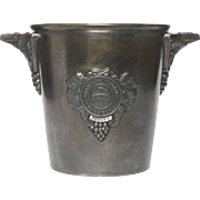 Vintage French CHAMPAGNE Bucket - Heidsieck Monopole