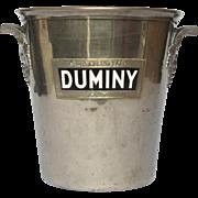 SALE Vintage French Champagne / Wine Ice Bucket - DUMINY