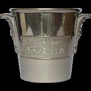 SALE Vintage French Champagne Ice Bucket / Wine Bucket / AYALA Champagne