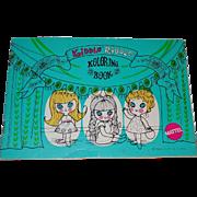 1960s Mattel Little Kiddles KIDDLE RIDDLE Koloring Book Unused