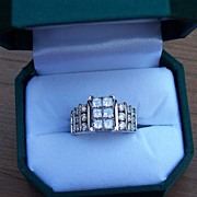 REDUCED Three Carat Diamond Ring