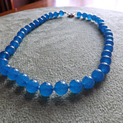 SOLD Natural Apatite Beaded Necklace